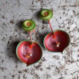 photo boucles d'oreilles